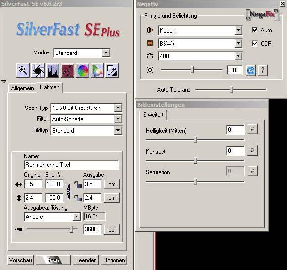 Silverfast_Se_Einstellungen